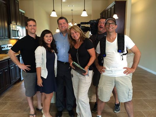 Alamo heights realtor ready for his closeup on hgtv 39 s for Hgtv cast members