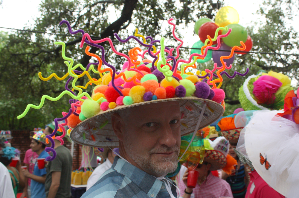 The 2015 Monte Vista Fiesta Hat Party Out In Sa