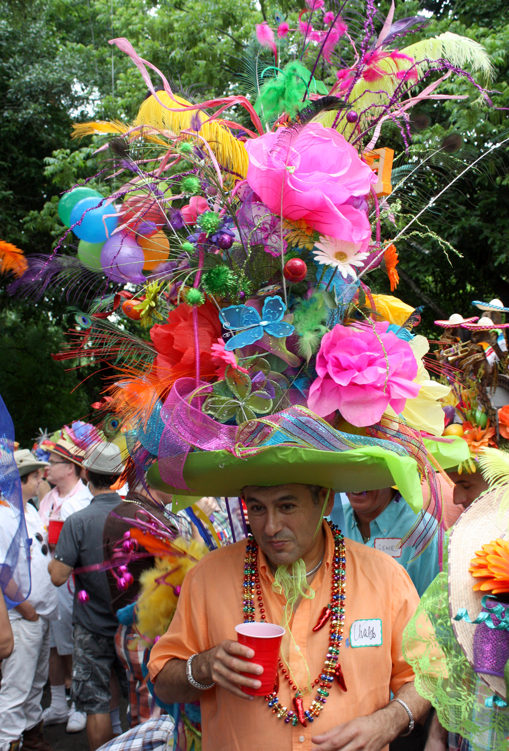 The Annual Fiesta Hat Party Is A Family Affair Out In Sa