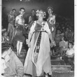 Kay Crews as Her Asthmatic Majesty of the Court of Allergies, 1952. Image courtesy the Texana Collection and the Playhouse.