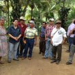 Susan Jaime, second from left, in Guatemala with the cooperativa de cacauteros de San Marcos. Courtesy Ferra Coffee.
