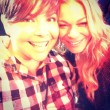 LeAnn Rimes selfie at The Abbey! Photo courtesy Christine Garza.