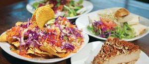 Photo of Vegeria menu items by Steven Gilmore for the San Antonio Current.
