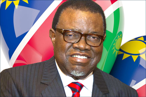 Image result for President Hage Geingob of Namibia