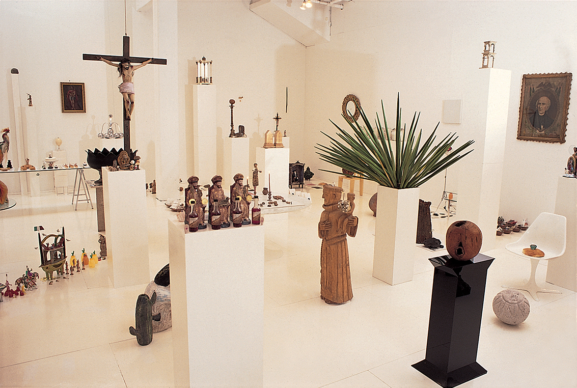 Franco Mondini-Ruiz's Infinito Botánica installed at Artpace in 2006