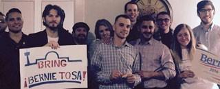 Members of LGBTQIA San Antonio for Bernie Sanders at a recent meeting. (Courtesy photos)