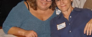 Stonewall members Jamie Lewis and Janice Olsen