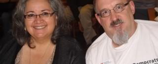 Minerva Mendoza and Kevin Voelker