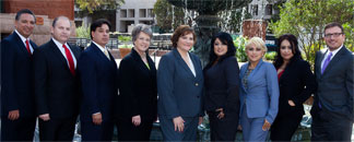 Attorneys from the  law firm of de la Riva & Associates (Courtesy photo)