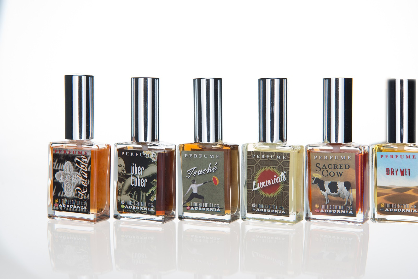 Fragrances created by Michelle Friesenhahn