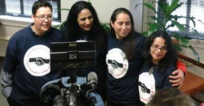 San Antonio Four press conference organized by Esperanza Peace & Justice Center in November 2013. (Photo: Esperanza Center)