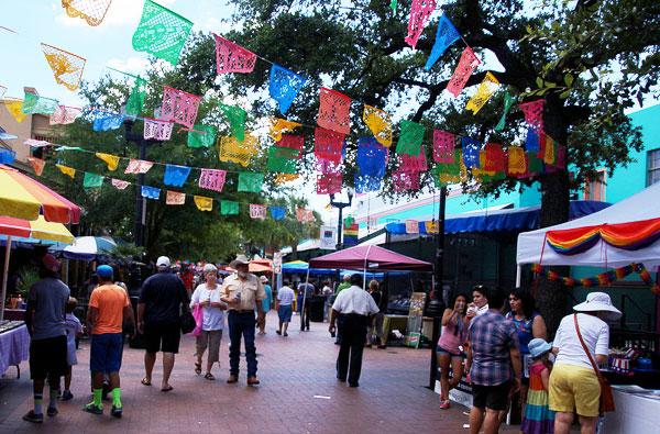 San Antonio Market Square Food