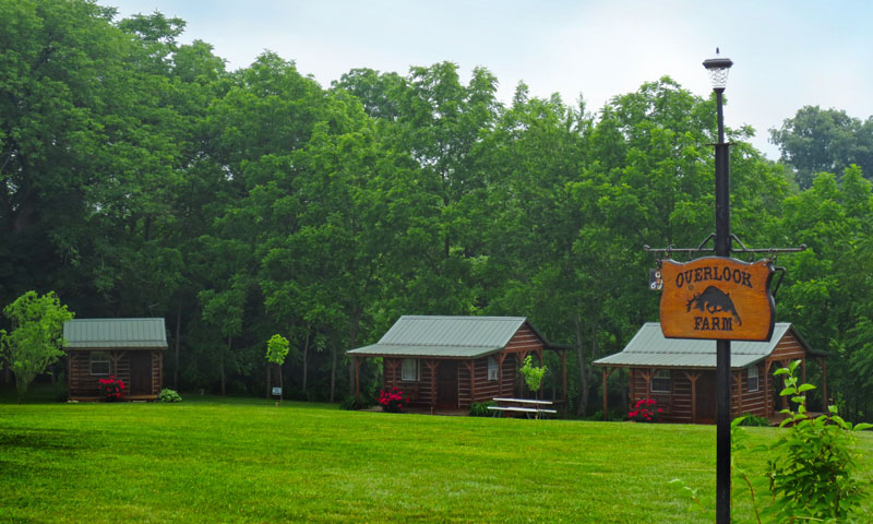 Cabins at Stag Run Club at Overlook Farm