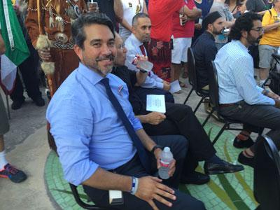 District 1 Citycouncilman Roberto Carlos Trevino.