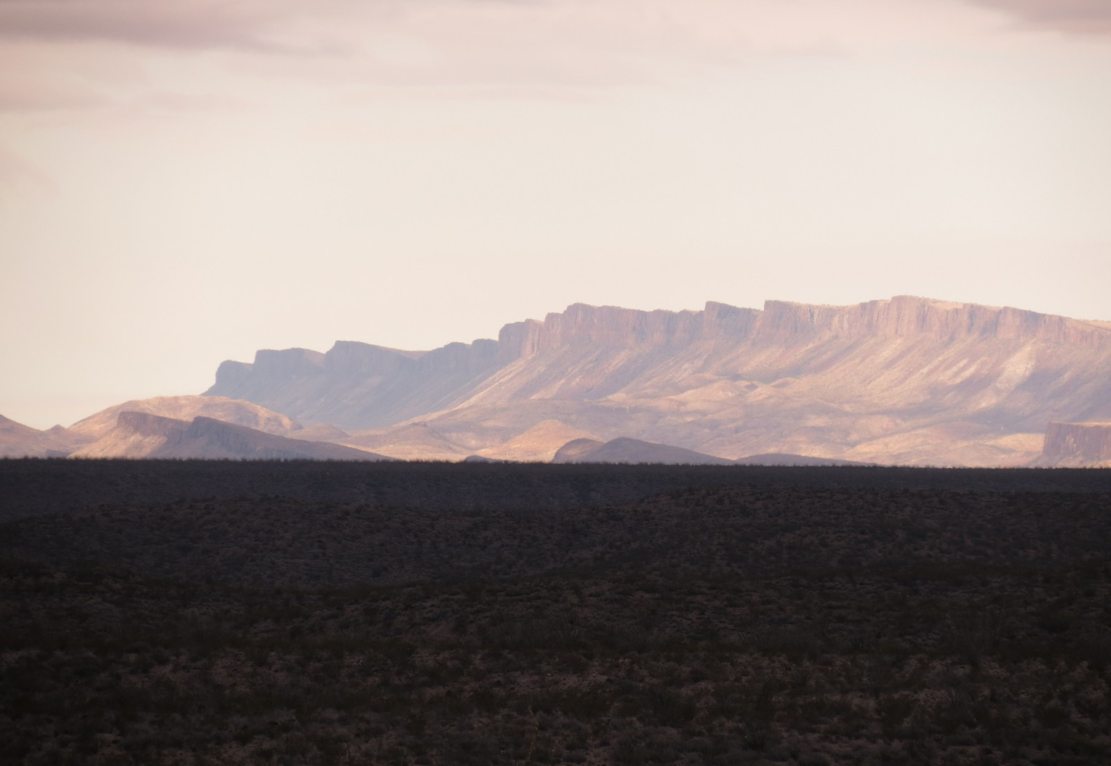 A Big Bend sunset captured by David W. Keller
