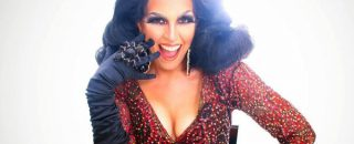 Female drag queen Jackie Huba will be in San Antonio on Aug. 31 signing copies of her best selling book. (Photo by Julián P. Ledezma)