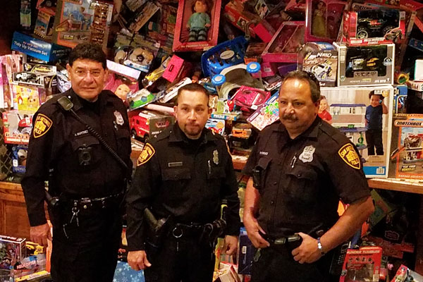 Main Ave  Businesses Collect Record Number of Toys for Blue