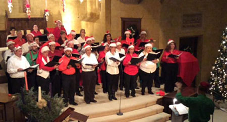The Live Oak Singers performed their 2014 holiday concert at Madison Square Presbyterian Church. (Photo: Facebook)