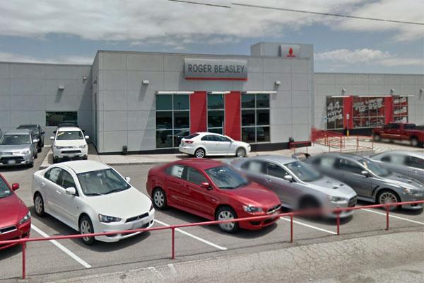 Roger Beasley Mitsubishi In Austin. (Photo Via Google Maps)