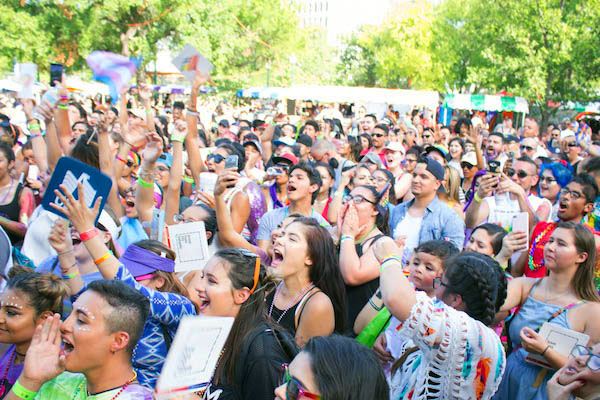 New York City Opera Holds Pride In The Park Event At >> Music And Comedy To Highlight Sa Pride Festival Entertainment Stage