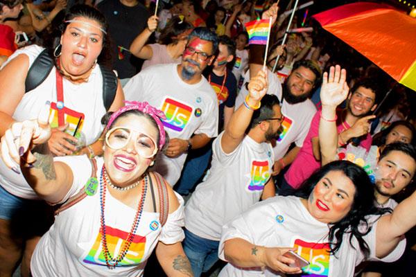Gay pride commemorate